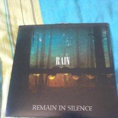 Discos de vinilo: REMAIN IN SILENCE RAIN EDICION LIMITADA POCAS COPIAS. Lote 205097776