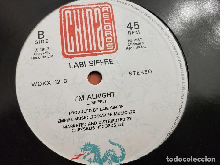 "Discos de vinilo: Labi Siffre - (Something Inside) So Strong (12"", Maxi) 1987.China WOKX 12.VINILO COMO NUEVO - Foto 2 - 205098781"