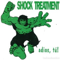 Discos de vinilo: SHOCK TREATMENT ADIOS TÚ PUNK RARO. Lote 205099797