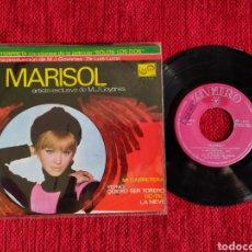 Discos de vinilo: MARISOL EP PELÍCULA SOLOS LOS DOS 1968. Lote 205103375