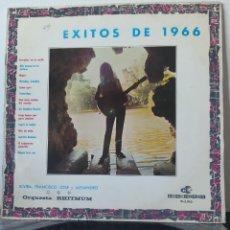 Discos de vinilo: DIFÍCIL! EXITOS DE 1966. ORQUESTA RHITMUN. DISCORAMA. 1966. VARIOS. YESTERDAY, EL SUBMARINO AMAR.... Lote 205104061