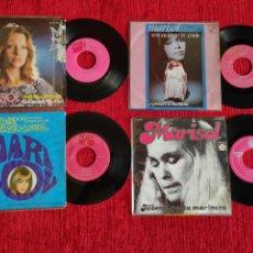 Discos de vinilo: MARISOL 4 VINILOS ORIGINALES. Lote 205104611
