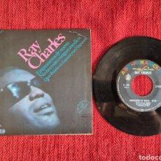 Discos de vinilo: RAY CHARLES HERE WE GO AGAIN EDICIÓN ESPAÑOLA 1967. Lote 205105203