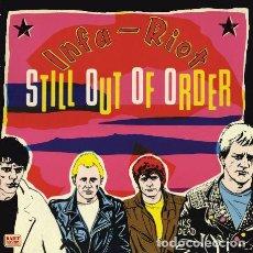 Disques de vinyle: INFA-RIOT -STILL OUT OF ORDER LP DAILY RECORDS -NUEVO PRECINTADO -PUNK ROCK OI!. Lote 205113766