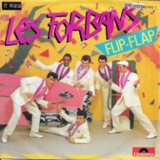 Discos de vinilo: LES FORBANS LOTE DE 4 SINGLES. Lote 205116705