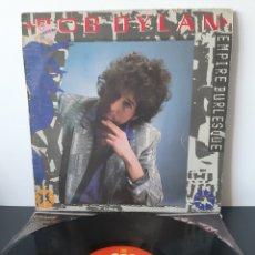 Discos de vinilo: BOB DYLAN. EMPIRE BURLESQUE. CBS. 1985. SPAIN. Lote 205119562