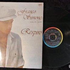 Disques de vinyle: FRANCO SIMONE CANTA EN ESPAÑOL RESPIRO LP 1978 RIFI PROMO EDICION ESPAÑOLA SPAIN ALBUM COMPLETO 10. Lote 205120398