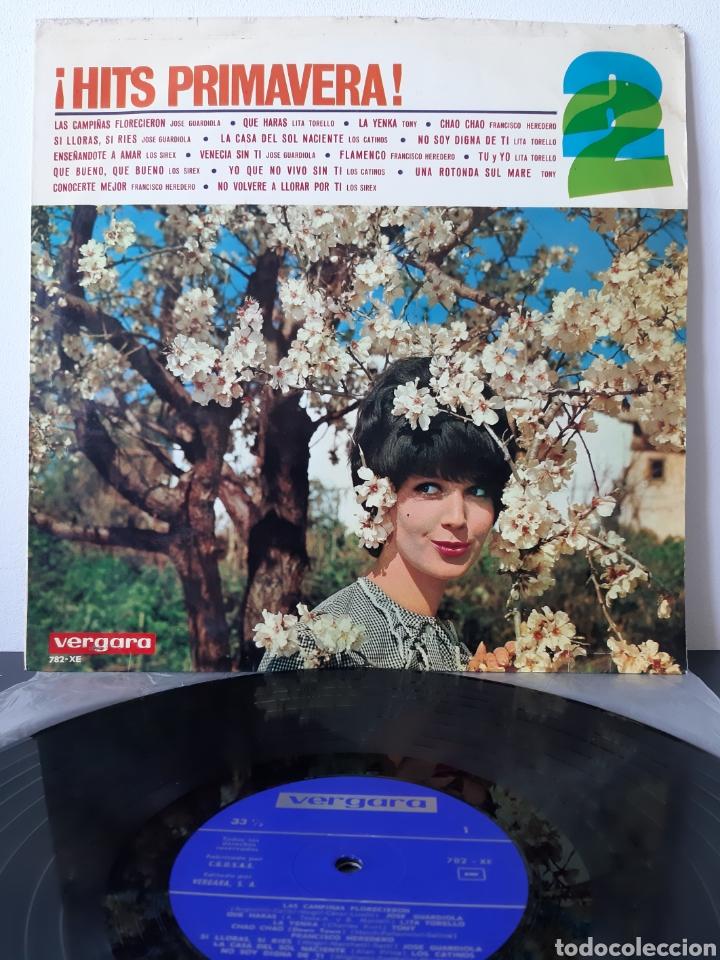 """RAREZA! HITS PRIMAVERA! 1965.VARIOS, SIREX, J. GUARDIOLA, L. TORELLO, F. HERRERO TEMA""""THE BEATLES"""". (Música - Discos - LP Vinilo - Grupos Españoles 50 y 60)"""