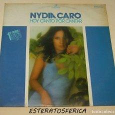 Discos de vinilo: NYDIA CARO: HOY CANTO POR CANTAR (COLUMBIA,1974) FESTIVAL DE LA OTI. Lote 205122618