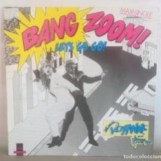 "Discos de vinilo: DISCO BANG ZOOM! ""LET'S GO GO"" (THE REAL ROXANNE WITH HITMAN HOWIE TEE). Lote 205122667"