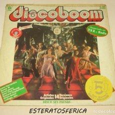 Discos de vinilo: DISCOBOOM, K-TEL – SL-1011, 1978, VINILO ROJO. Lote 205123113