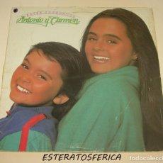 Discos de vinilo: ANTONIO Y CARMEN - ENTRE COCODRILOS WEA 1983. Lote 205123593
