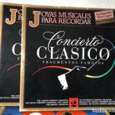 Discos de vinilo: CONCIERTO CLASICO, ESTUCHE VINILOS, VOL.2. Lote 205124198