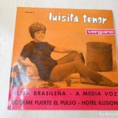 Discos de vinilo: LUISITA TENOR, EP, FIESTA BRASILEÑA + 3, AÑO 1963. Lote 205126407