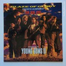 Discos de vinilo: JON BON JOVI – BLAZE OF GLORY HOLANDA 1990 VERTIGO. Lote 205128308