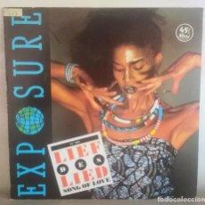 """Discos de vinilo: DISCO EXPOSURE """"LIEF DES LIED"""" (SONG OF LOVE). Lote 205129886"""