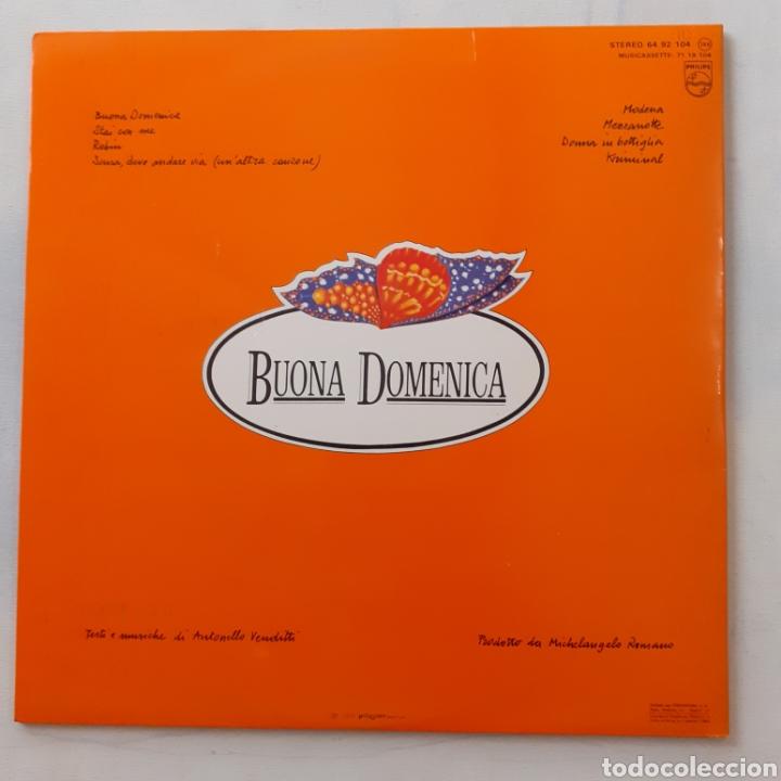 Discos de vinilo: Antonello Venditti. Buona domenica. Gatefold. Philips 64 92 104. España 1980. Funda VG++. Disco EX. - Foto 2 - 205134663