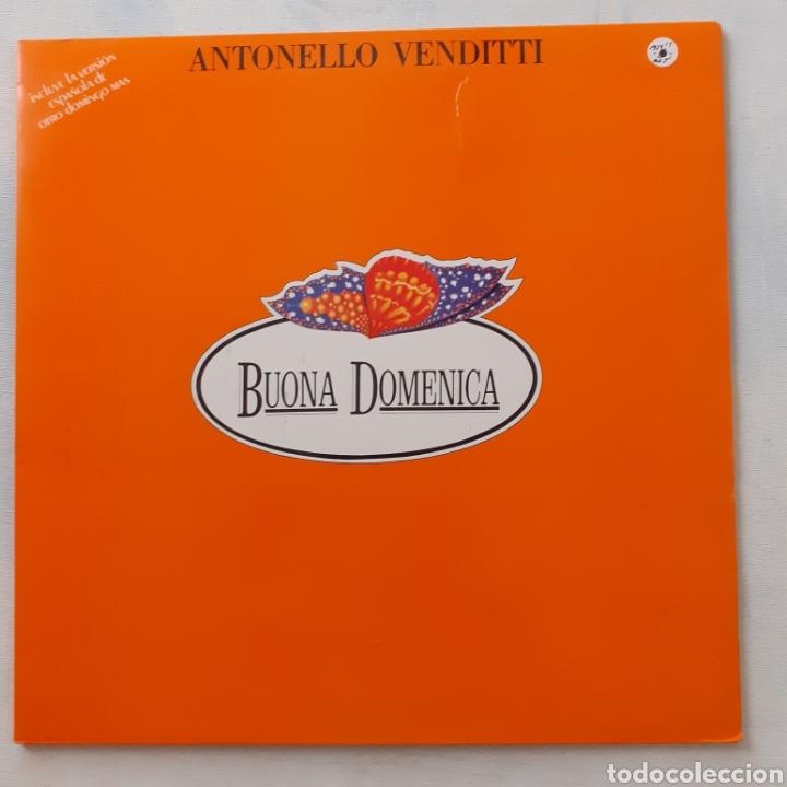 ANTONELLO VENDITTI. BUONA DOMENICA. GATEFOLD. PHILIPS 64 92 104. ESPAÑA 1980. FUNDA VG++. DISCO EX. (Música - Discos - LP Vinilo - Canción Francesa e Italiana)