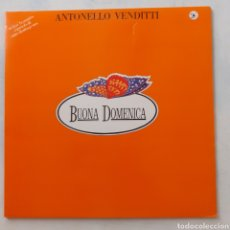 Discos de vinilo: ANTONELLO VENDITTI. BUONA DOMENICA. GATEFOLD. PHILIPS 64 92 104. ESPAÑA 1980. FUNDA VG++. DISCO EX.. Lote 205134663