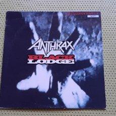 "Discos de vinilo: ANTHRAX -BLACK LODGE- (1993) EP 10"". Lote 205134897"