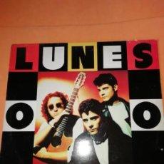 Discos de vinilo: LOS LUNES. LOS LUNES. TABATA MUSICA Y LETRA 1992.. Lote 205160276
