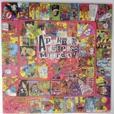 Discos de vinilo: APARTATE QUE PISO MIERDA LP PUNK. Lote 205162050