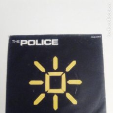 Dischi in vinile: THE POLICE INVISIBLE SUN / SHAMELLE ( 1981 A&M UK ) STING. Lote 205162268