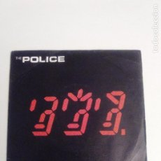 Discos de vinilo: THE POLICE SPIRITS IN THE MATERIAL WORLD / LOW LIFE ( 1981 A&M ESPAÑA ) STING. Lote 205162988