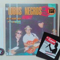 Discos de vinilo: LOBOS NEGROS LOTE - PSYCHOBILLY NEO ROCKABILLY THE METEORS STRAY CATS 800 BALAS ALEX DE LA IGLESIA. Lote 205163231