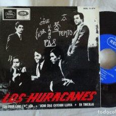Disques de vinyle: LOS HURACANES FOR YOUR LOVE EP1965 NUEVO EN OFERTA VER MAS INFORMACIÓN. Lote 205165423