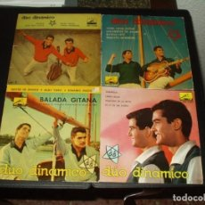 Discos de vinilo: LOTE 24 EP'S DUO DINAMICO+ ALBUM DISCOS PEQUEÑOS. DE REGALO. Lote 205165585