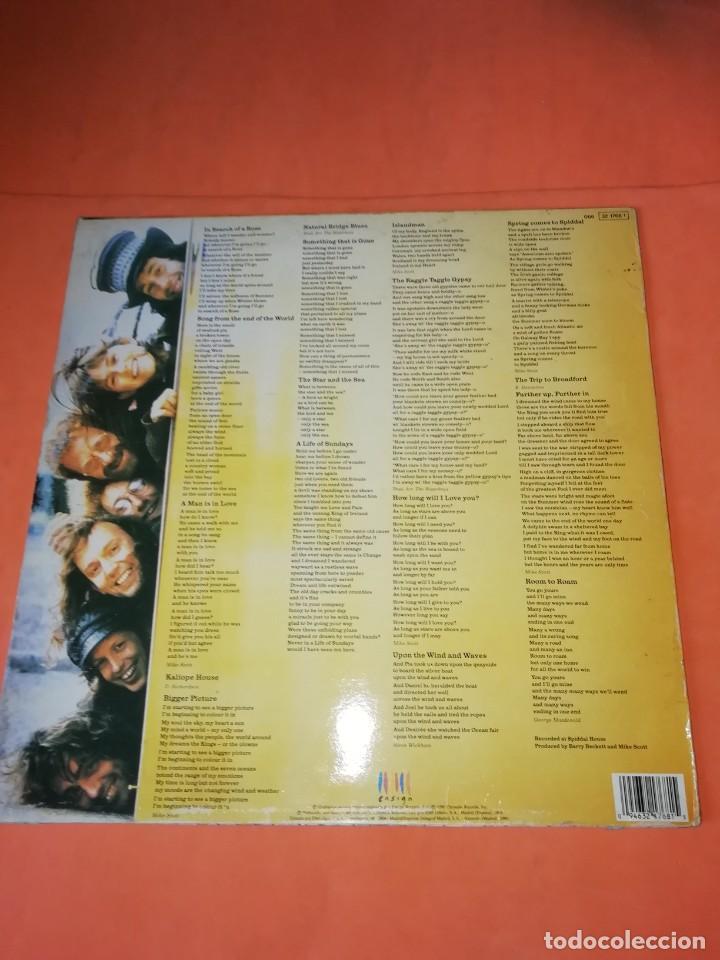Discos de vinilo: The WaterBoys . Room To Roam . ENSIGN RECORDS 1990 - Foto 2 - 205169222