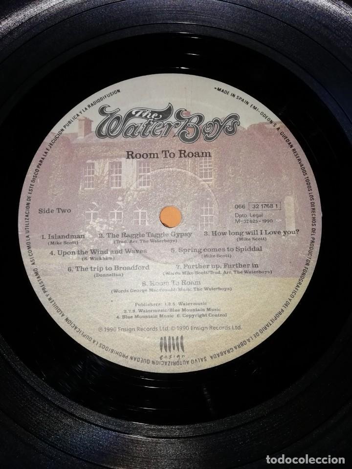 Discos de vinilo: The WaterBoys . Room To Roam . ENSIGN RECORDS 1990 - Foto 6 - 205169222
