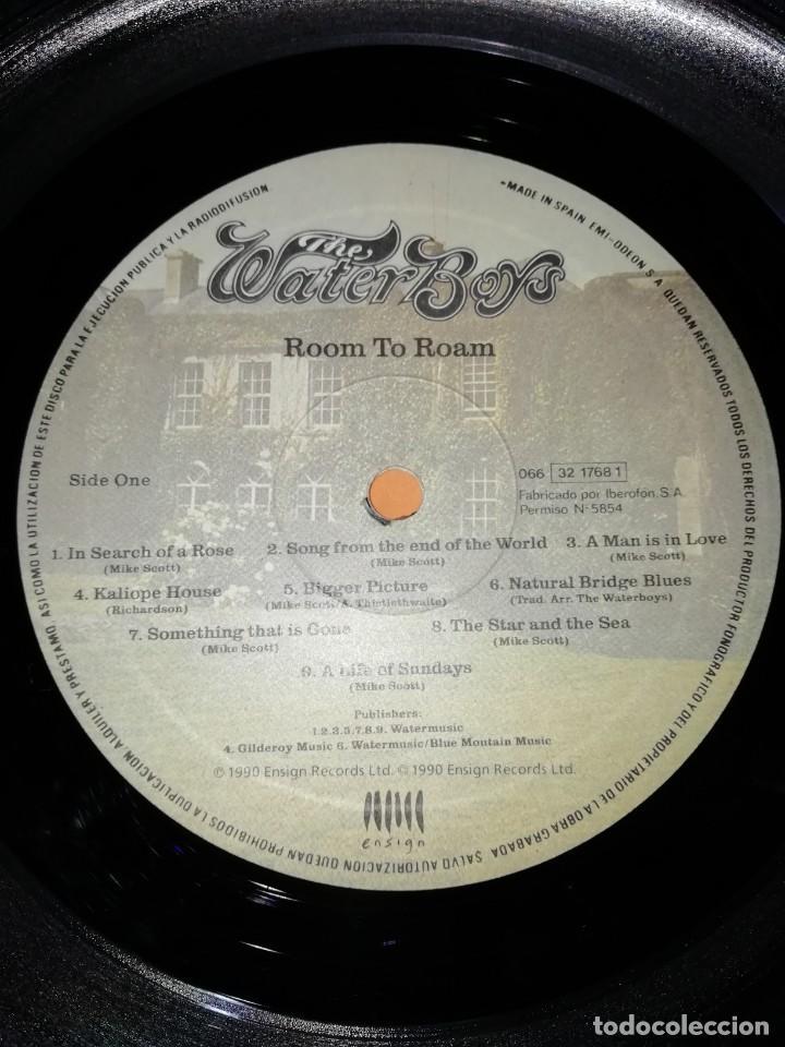 Discos de vinilo: The WaterBoys . Room To Roam . ENSIGN RECORDS 1990 - Foto 8 - 205169222
