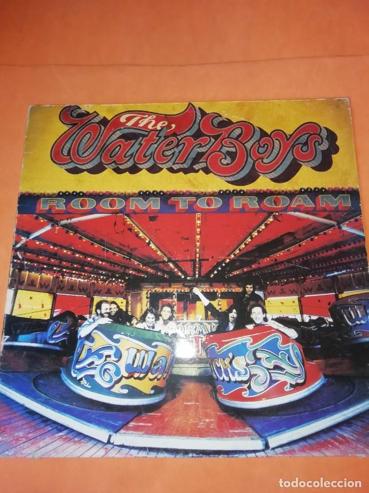 THE WATERBOYS . ROOM TO ROAM . ENSIGN RECORDS 1990 (Música - Discos - LP Vinilo - Pop - Rock Extranjero de los 90 a la actualidad)