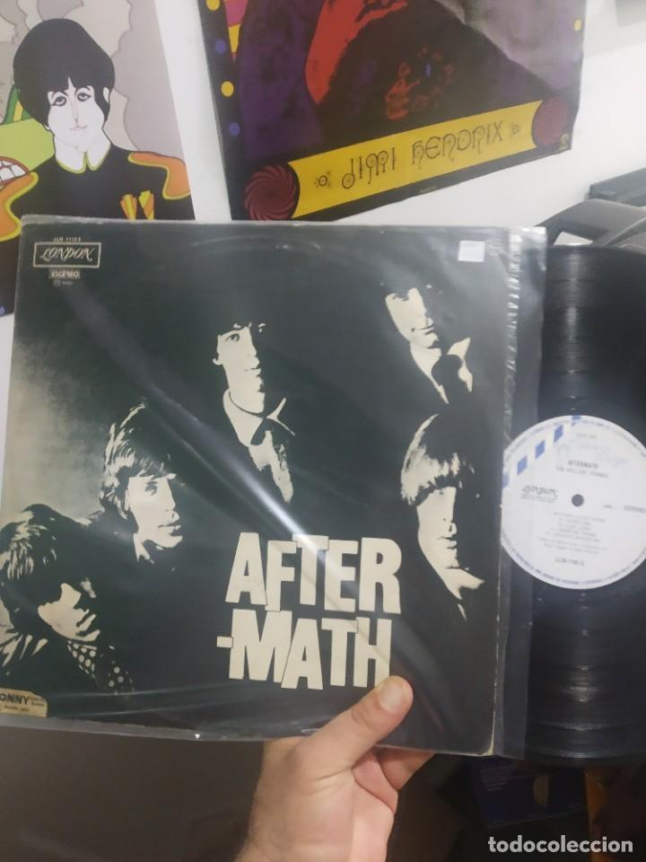 LP THE ROLLING STONES AFTERMATH EDICION MUY RARA (Música - Discos - LP Vinilo - Pop - Rock - Extranjero de los 70)