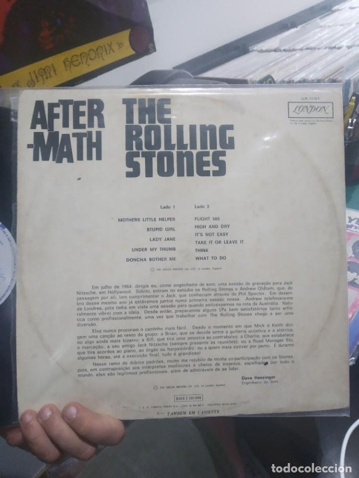 Discos de vinilo: LP THE ROLLING STONES AFTERMATH EDICION MUY RARA - Foto 3 - 205169243