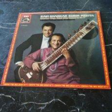 Discos de vinilo: RAVI SHANKAR. ZUBIN META. SITAR CONCERTO N° 2. EMI. 1982. LP.. Lote 205171523