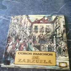 Discos de vinilo: COROS FAMOSOS DE ZARZUELA. ZAFIRO. 1978. LP.. Lote 205172643