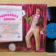 Discos de vinilo: MINSTREL SHOW UK LP ANDY COLE TED GILBERT GEOFF LOVE TWIZZLE SISTERS MUSIC FOR PLEASURE IMPORT BSO. Lote 205174027