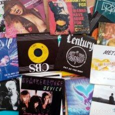 Discos de vinilo: LOTE 50 SINGLES POP/ROCK AÑOS 80/90. Lote 205175665