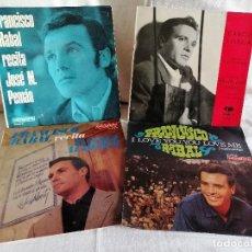 Discos de vinilo: FRANCISCO RABAL LOTE 4 EPS. AÑOS 60 MUY BUEN ESTADO EN OFERTA VER MAS INFORMACION. Lote 205175861