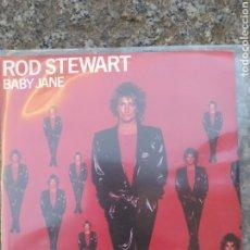 Discos de vinilo: ROD STEWART -BABY JANE. Lote 205176698
