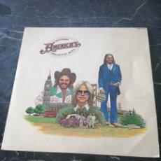 Discos de vinilo: HISTORY AMERICA'S. GREATEST HITS. WB RECORDS. 1975. LP.. Lote 205176753