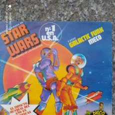 Discos de vinilo: STAR WARS. GALACTIC FUNK. DISCO EXPLOSIÓN. BUEN ESTADO. Lote 205177293