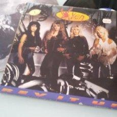 Discos de vinilo: VIXEN - REV IT UP ..LP DE VINILO ORIGINAL 1990 - EDICION EMI USA / HISPAVOX - ESPAÑA. Lote 205178531