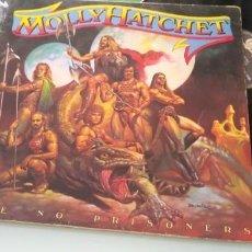 Discos de vinilo: MOLLY HATCHET - TAKE NO PRISIONERS .. LP DE 1981 - ORIGINAL ESPAÑOL CON LETRAS. Lote 205179523