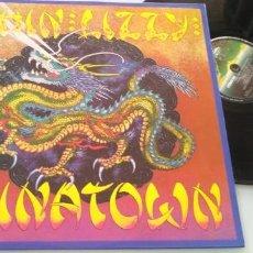 Discos de vinilo: THIN LIZZY - CHINATOWN ..LP DE VERTIGO - 1980 -EDICION ORIGINAL ESPAÑOLA - COMO NUEVO. Lote 205181196