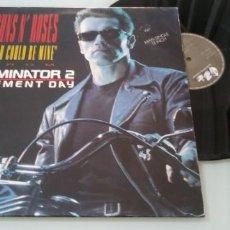 Discos de vinilo: GUNS N´ ROSES - YOU COULD BE MINE ... MAXISINGLE DE 1991 FROM TERMINATOR 2-ORIGINAL ESPAÑOL-. Lote 205186732