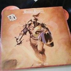 Discos de vinilo: JUDAS PRIEST - HERO HERO ..2 LP ´S - EDICIÓN ESPAÑOLA 1982 - GULL RECORDS. Lote 205187065
